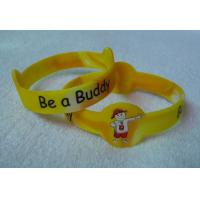 Buy cheap oem unisex bangle custom silicone wristbands personalized