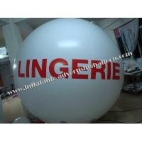 Buy cheap New Inflatable Advertising Helium Balloons with 0.18mm Helium Quality PVC For Celebration from Wholesalers