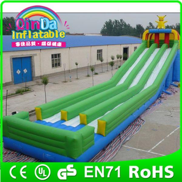 Inflatable Giant Slide: Commercial Inflatable Water Slide Slip N Slide,giant