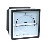 China Phase Comprison Analogue Panel Meters , Synchroscope Meter on sale