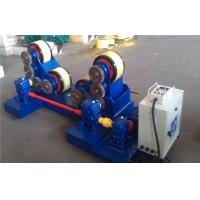 Buy cheap 5T - 60T Pipe Welding self - aligning Rotator with rubber rollers , tank turning rolls product