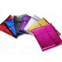 Buy cheap Laminated Colorful Metallic Bubble Envelopes Self Sealing For Delivery Industry product