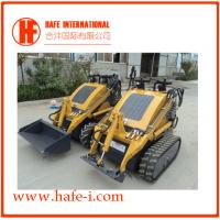 Buy cheap Small in size   Mini skid steer loader SSL-C300A USA Briggs&Stratton engine(23hp), bucket 0.15m3, track with bucket product