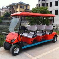 China 6 seater gas powered golf cart on sale