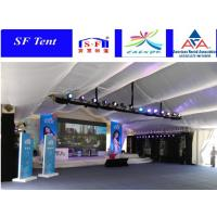 Buy cheap Amazing outdoor wedding events tent with white decorating ceiling product