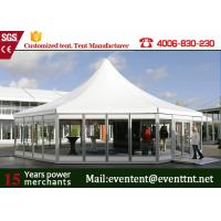 Buy cheap Strong Pagoda Party Tent, Durable Small Garden Marquee With PVC Fabric SGS from Wholesalers