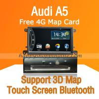 Buy cheap Car DVD Multimedia Head Unit with GPS Digital TV fit Audi A5 product