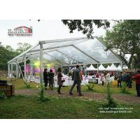 Buy cheap 15M Clear Span Marquee Tent  With Transparent Roof And Sidewalls For Wedding Exhibition Show from Wholesalers