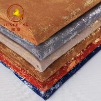 Buy cheap Good quality luxurious Bronzing Suede Fabric for Garment product