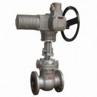 Buy cheap Electric Control Valve with HT200, ZG230-450 and ZG1Cr18Ni9Ti Body/Bonnet Materials product