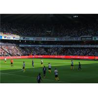 Quality High Brightness Soccer LED Perimeter Advertising Screen With CE / ROHS for sale