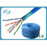 Buy cheap Communication Cat6 Lan Cable Network Wire Shielded Solid Bare Copper For Computer product