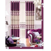 Colorful Long Wide Jacquard Living Room Curtain Bracket Sound Insulation And