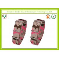 Buy cheap Camouflage Color Nylon Watch Strap 18mm No-Fade For Male / Female product