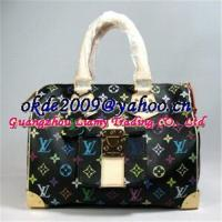 China Louis vuitton murakami black speedy 30 M92643 on sale