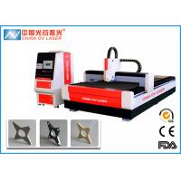 Buy cheap 1KW CNC Fiber Laser Cutting Machine with IPG Coherent  Raycus Fiber Laser Source product