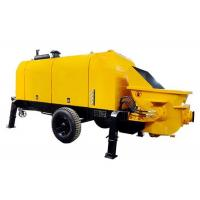 China Diesel Hydraulic Trailer Construction Concrete Pump 420L Oil Tank Capacity on sale