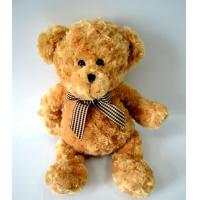 Buy cheap Cute Plush Toys for baby, Lovely Bear Plush with Check bow-tie. product
