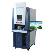 Buy cheap Power Optianal Optical Fiber Laser Marking Machine With Industrial Computer product