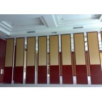 Buy cheap Noise Insulation Melamine Board Folding Sound Proof Partitions / Acoustic Room from wholesalers