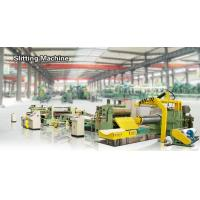 China High Speed Steel Coil Slitting Line 1400 Mm Semi Automatic Hydraulic Slitting Line on sale