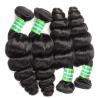 Buy cheap Wholesale 7a grade virgin hair weft,unprocessed raw Virgin Indian Hair Bundles from wholesalers