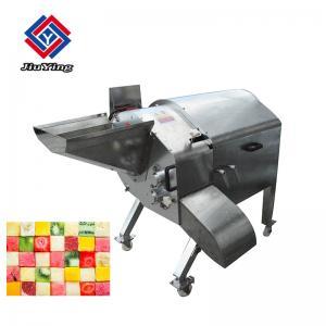China Large Capacity Fruit Processing Equipment / Carrot Potato Pineapple Cube Cutting Machine on sale
