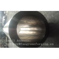 St52-3 forged steel rings Hot Rolled Sleeve Forged Cylinder 3000mm length