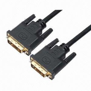 Buy cheap DVI connectors for DVI plug to DVI plug, 24K gold plating product