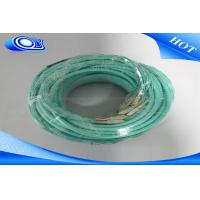 China 50 / 125um OM3 Fiber Optic Patch Cord Low Insertion Loss With 24 Core MPO Connector on sale