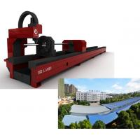 China High Efficiency Laser Pipe Cutting Machine , Laser Pipe Cutter Equipment on sale