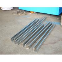 Buy cheap Low Noise Metal Roof Solar Strut Channel Roll Forming Machine With 5 Ton product