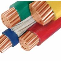 Buy cheap 95mm PVC Insulation Copper Cable / Flexible 4 Core Electric Cable product