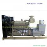 Buy cheap 625KVA CCEC KTA19 Cummins Diesel Power Generators from Wholesalers