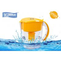 Buy cheap Alkaline Mineral Water Pitcher Fast Filtering , Plastic Water Purifier Jug 3.5L product