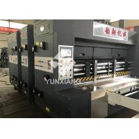 Quality YIKE Automatic Flexo Printer Slotter Machine 80pcs/min With Auto Stacker Pass ISO,CE for sale