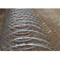 Buy cheap Professional BTO-22 Security Concertina Razor Barbed Wire Hot Dieed Galvanized product