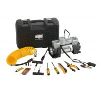 Buy cheap DC12V Double Cyliner Metal Vehicle Air Compressor Kit with Tools in Box product