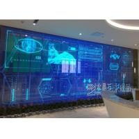 Buy cheap Ip65 Waterproof Transparent Led Display Hd Video Wall / Curtains 5mm X 6mm product