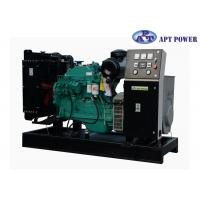 Buy cheap Green Soundproof Industrial Cummins Diesel Generator Set With 6 Cylinder product