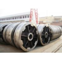 Buy cheap P24 rail locomotive freight car rail bogie wheel with axle and bearing product