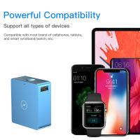 Buy cheap Portable Mini 2 In 1 Wireless Phone Charger Travel Charger Power Bank 5000mAh product