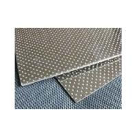 Synthetic Fiber Beater Sheet Reinforced with Double Tanged Sheet