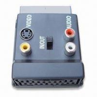 Buy cheap SCART Connector with Switch and 3RCA and S-Video Jacks product