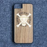 Buy cheap Craved Light Weight TPU Apple iPhone Wood Case Custom Design Supported product