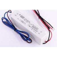 Buy cheap LPV-35-24 36W 1.5A 24V LED Power Supply Waterproof Isolated Plastic IP67 90~264VAC Input product
