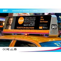 Buy cheap High Density P5 Taxi Led Display 1R1G1B , Taxi Roof Advertising Signs product