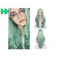 Buy cheap Fashion Multi Color Synthetic Cosplay Wigs , Long Curly Wave Hair Wigs product