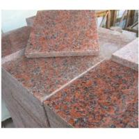 Buy cheap Maple Leaf Red Granite Stone Slab / G562 Granite Tile CE Approved product