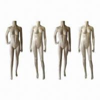 Buy cheap Headless female mannequins with realistic posture, offered in 4 poses product
